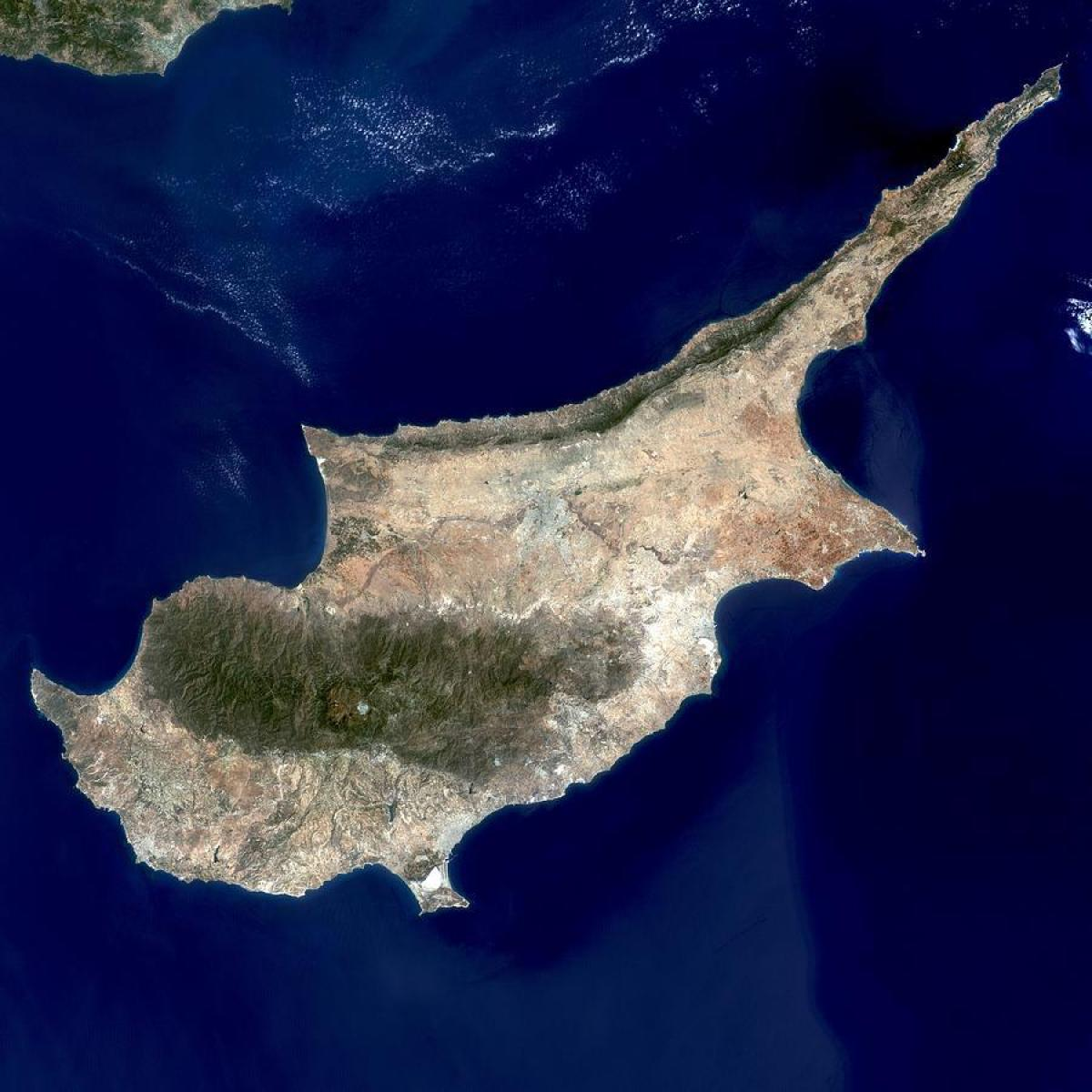 Cipru Harta Prin Satelit Cipru Harta Satelit Europa De Sud